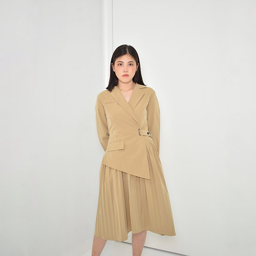 Chazaia Buckled Dress