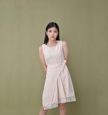 Ayanna Overlap Dress