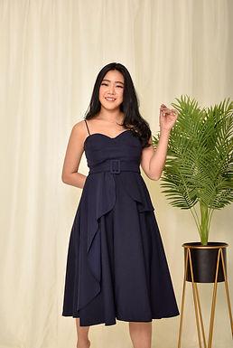 Donna Bustier Midi Dress
