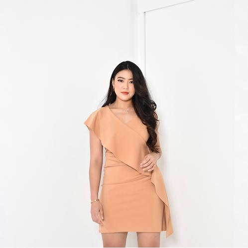 Arley Ruffled Mini Dress
