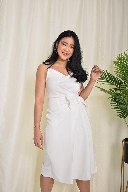 Camille Sash Bow Dress
