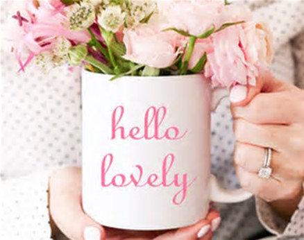 Hello Lovely Coffee Mug
