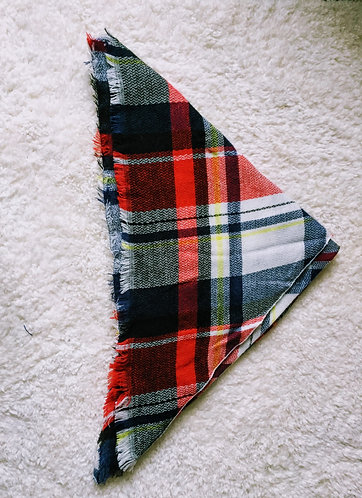 Red Plaid Pashmina/Scarf