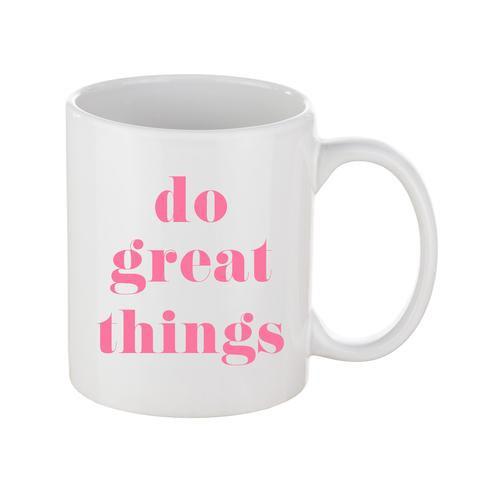 Do Great Things Coffee Mug