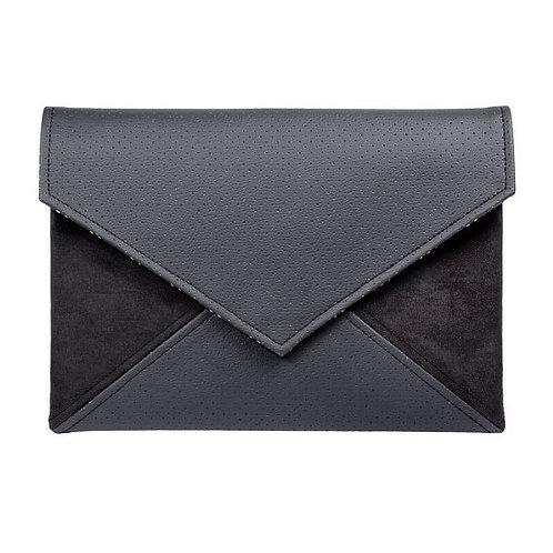 Black Vegan Leather Bag
