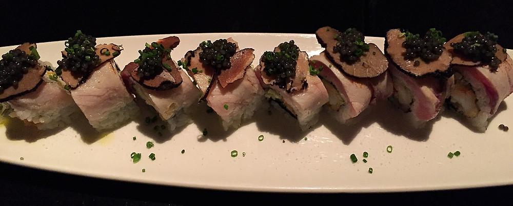 Hamachi Truffle Roll. Yum!