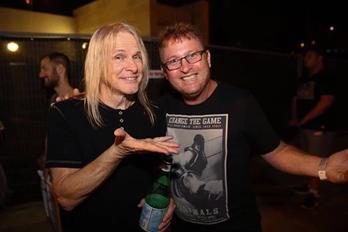 עם סטיב מורס (Deep Purple)