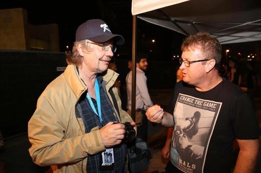 עם דון איירי (Rainbow,  Ozzy Osbourne, Deep Purple)