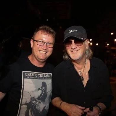 עם רוג'ר גלובר (Deep Purple)