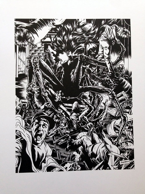 Spider Woman - Midnight Black Print Limited Edition of 20
