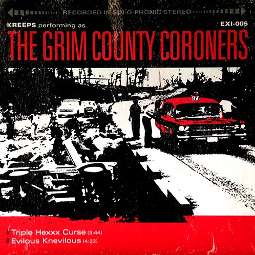 Kreeps AKA Grim County Coroners - Triple Hexxx Curse - White Vinyl