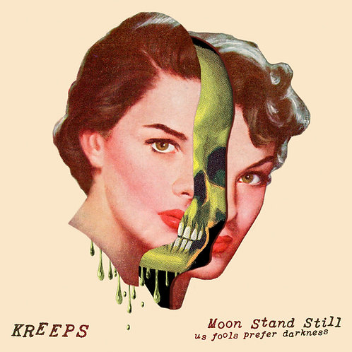 Moon Stand Still - Us Fools Prefer Darkness Limited Color Vinyl LP