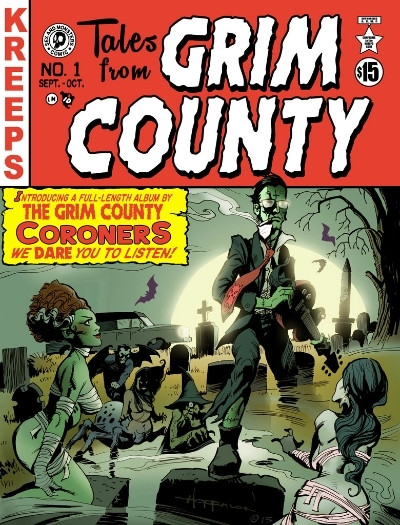 Kreeps Horror Anthology Comic Tales From Grim County