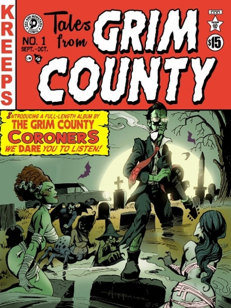 Kreeps Presents...Tales From Grim County Comic Book (With Digital Soundtrack)