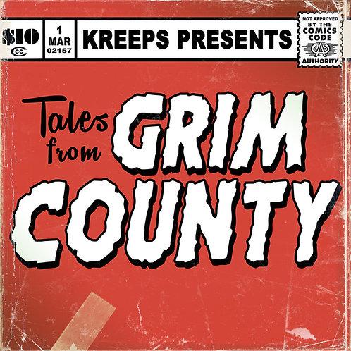 Tales From Grim County Digital Comic Book + Album