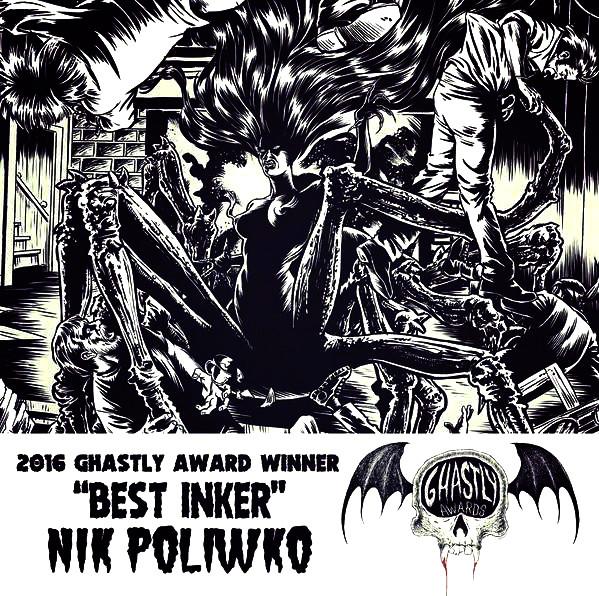 Nik Poliwko Ghastly Awards Kreeps Panel