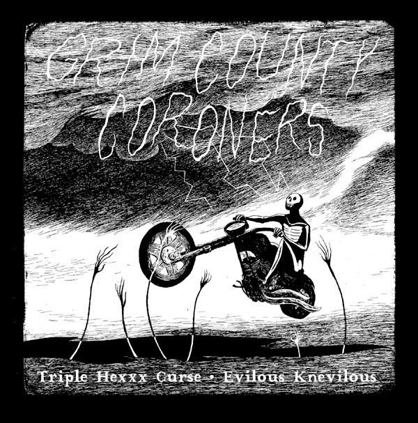 Grim County Coroners Limited Vinyl - Happy Undertaker Art