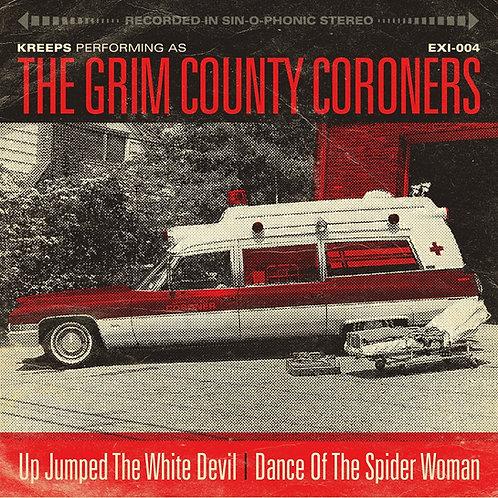 Kreeps AKA Grim County Coroners - Up Jumped the White Devil - Red Vinyl