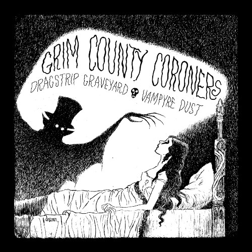 Grim County Coroners Limited Vinyl - Happy Undertaker Art