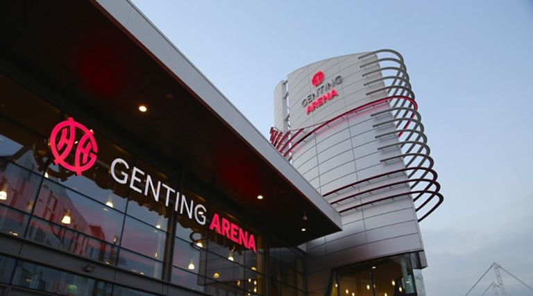 Genting Arena - previously known as NEC Arena and LG Arena