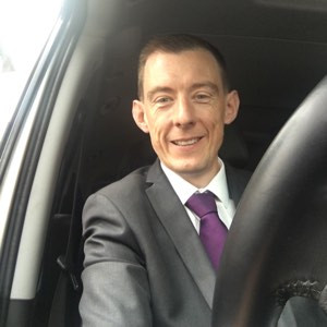 Ian Baird - one of the team of drivers at Select Chauffeurs