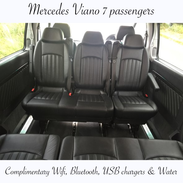 Inside the Mercedes Viano