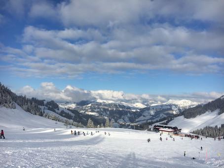 Skifahren Kitzbühel 2018