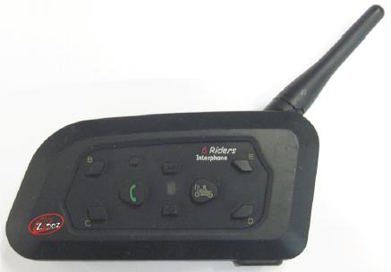 Motorcycle Bluetooth Intercom ZB-6100 Double