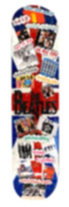 Heather Fazzinio Beatles-Skateboard-Deck