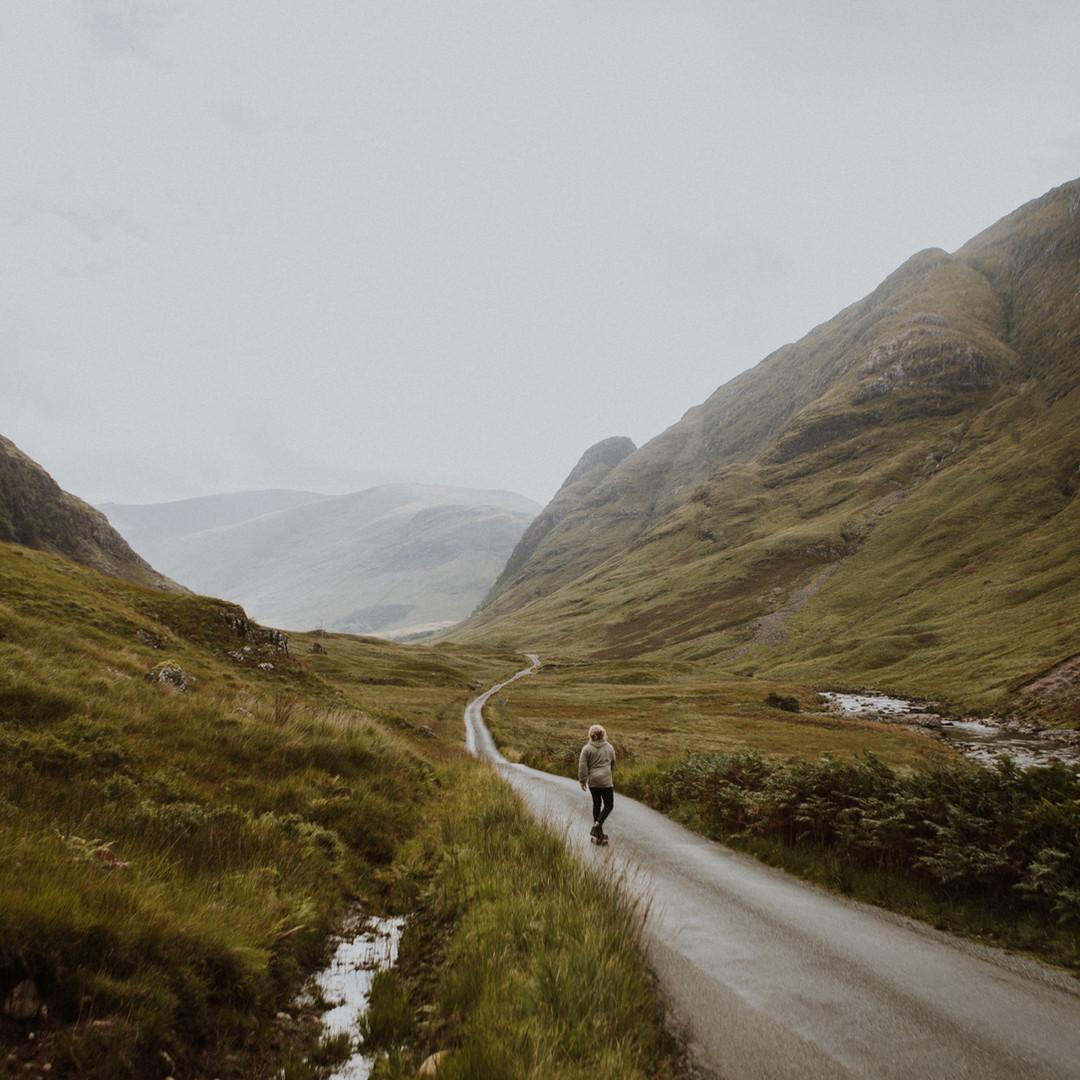 Wandern in den Highlands