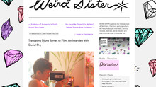 Director Daviel Shy interviewed by Megan Milks for Weird Sister!