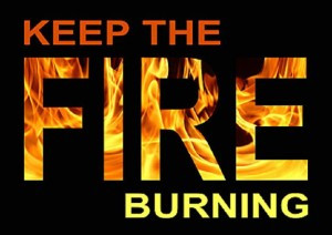 The One About Keeping the Fire Burning