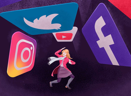 The One About Navigating Social Media in Midlife