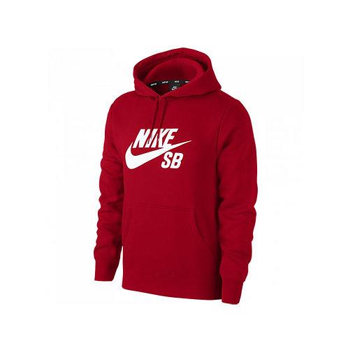 Chaqueta hoddie Nike roja Estampada AJ9733-657