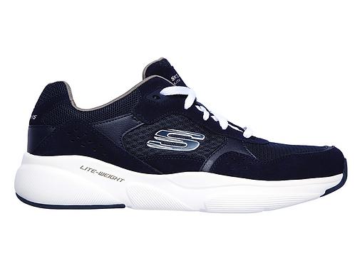 Tenis Skechers Azul blanco Ostwall 52952NVW