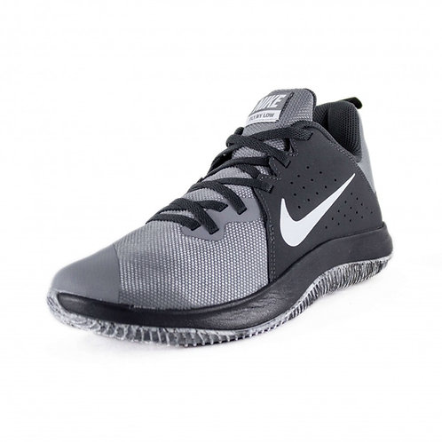 Tenis Nike Basket Fly by Low Gris Negro -908973-003