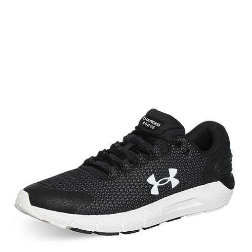 Tenis Under Armour Negro Charged Rogue - 3024400-001