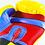 Thumbnail: Guantes de boxeo Everlast Azul Amarillo - 25SMY16