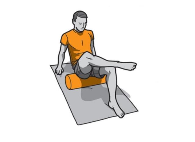 Foam Roller ejercicios gluteos