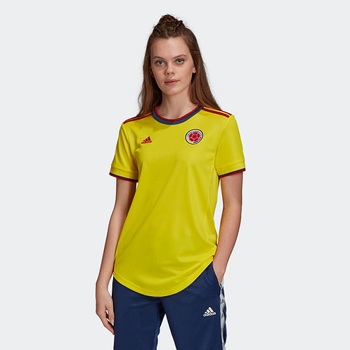 Camiseta Mujer Adidas Titular Selección Colombia