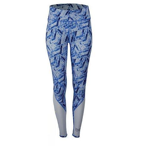 Pantalón Licrado azul con blanco - EV88ABL343