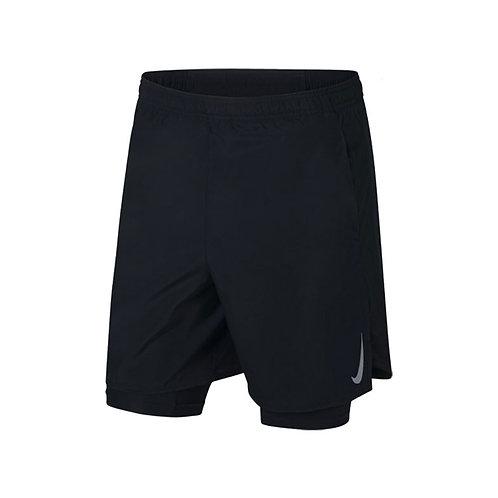 Pantaloneta Running  Negra  - Untitled