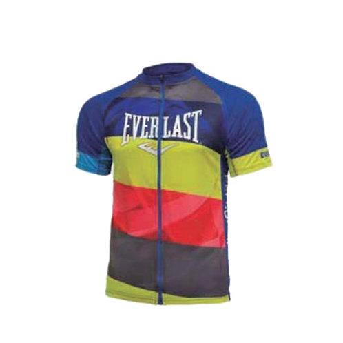Jersey hombre Ciclismo azul, amarillo, rojo  - EV77XBM903