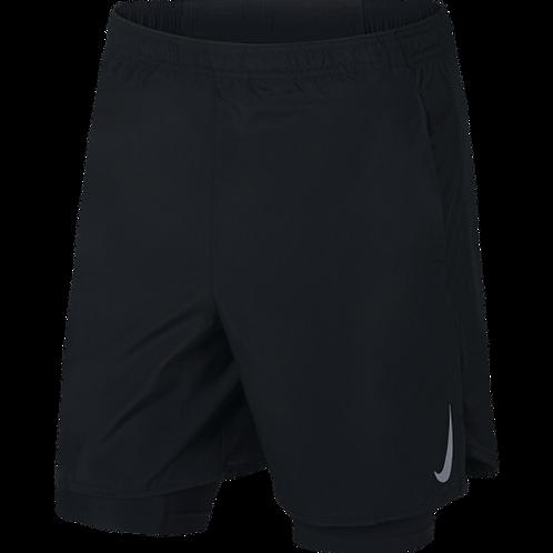 Pantaloneta Running Hombre Negra Nike CK0450-068