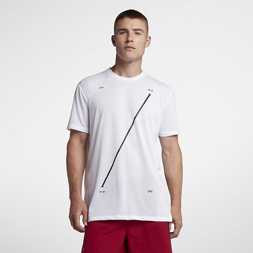 Camiseta Nike Just Do it Blanca  - AH1803-100