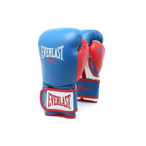 Guantes de Boxeo Powelock  AZUL logo Blanco X ROJO 14-16OZ POOOOO727-72