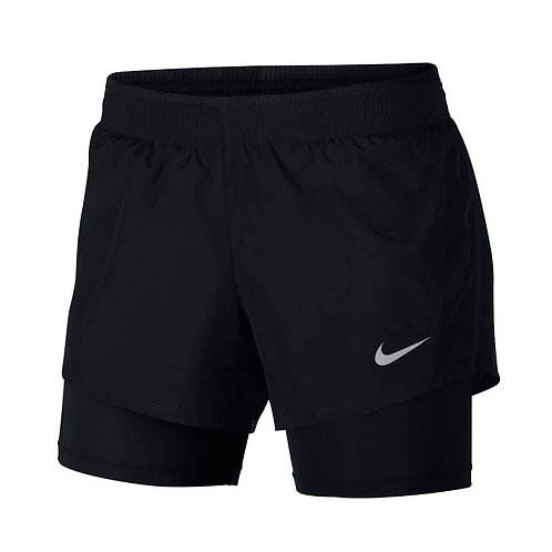 Pantaloneta Nike Negra con licra Dama 902283-010