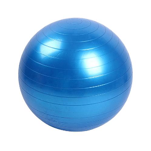 Pelota yoga pilates 75cm con inflador color azul gm75 azul