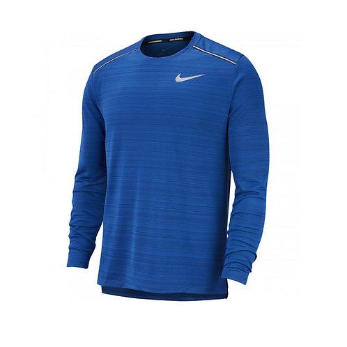 Camiseta Nike Running Dri Miller azul AJ7568-438