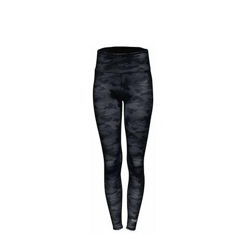 Pantalón Licrado Negro Everlast Mujer  - EV80GAL711